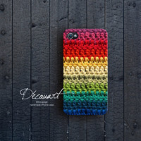 $25.99 Crochet iPhone 4 case iPhone 4 / 4s case crochet by Decouart