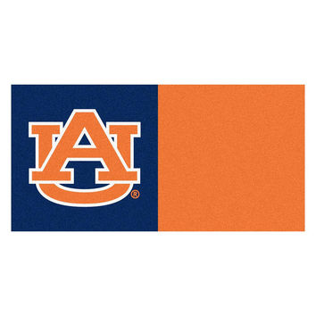 Auburn Tigers NCAA Team Logo Carpet Tiles