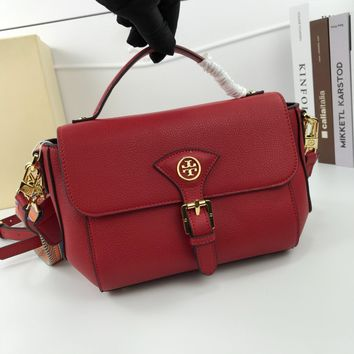 DCCK 1765 Tory Burch Fashion Handbag 25-15-10cm red