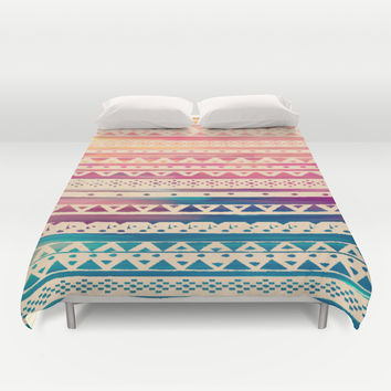 SURF TRIBAL II Duvet Cover by Nika | Society6