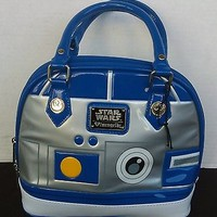 Loungefly Star Wars Blue & Grey Retro Collectible Purse