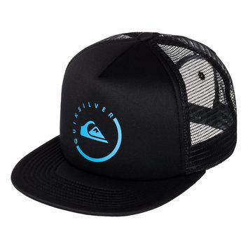 Everyday Eclipse Trucker Hat 888256891623 - Quiksilver