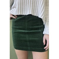 Mistletoe Skirt - Green