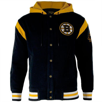 Boston Bruins - Logo Stagger Adult Jacket