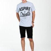 The Revival - Mens T-Shirt - Aspire And Create - Brands - Paper Alligator