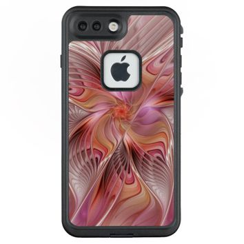 Abstract Butterfly Colorful Fantasy Fractal Art LifeProof® FRĒ® iPhone 7 Plus Case