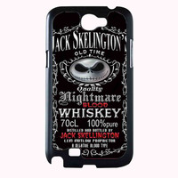 Halloween Parody Nightmare Blood jack skellington Whiskey 78bb0904-e749-440e-b1e8-852f6a7e805a FOR SAMSUNG GALAXY NOTE 2 CASE**AP*