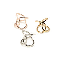 FOREVER 21 Cutout Midi Ring Set Silver/Light Rose 4