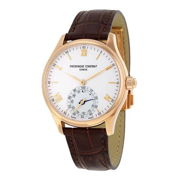 Frederique Constant Rose Gold-plated Stainless Steel Mens Watch FC-285V5B4