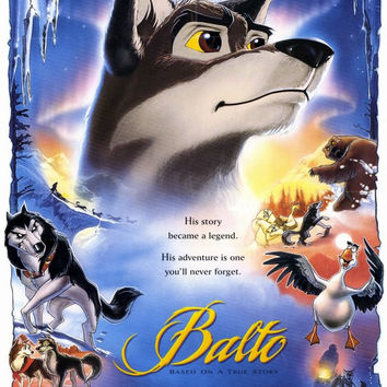 Balto 11x17 Movie Poster (1995)