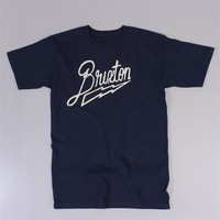 Brixton Flash T Shirt Navy