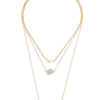 Pearl Necklaces, Statement Necklaces & Gold Necklaces at LuLu*s - Page 4
