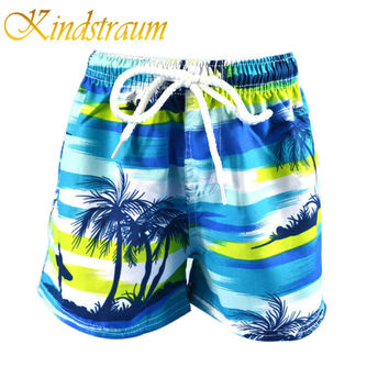 Kindstraum Family Shorts Boys Beach Shorts Summer Boardshorts Women Men Shorts Beach Surf Swimwear Coconut Casual Holiday, MC468