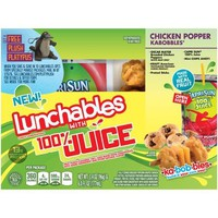 Oscar Mayer Chicken Popper Kabobbles Lunchables with 100% Juice, 3.4 oz - Walmart.com
