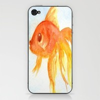 Fishy Fish Phone Skin by Rosie Brown | Society6