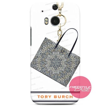 Tory Burch Kerrington Square Kaleidoscope HBG HTC One Case M9 M8 One X Cover