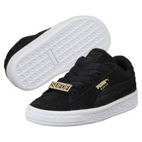 Suede Classic B-BOY Fabulous Infant Sneakers | Puma Black-Puma Black | PUMA Shoes | PUMA United States