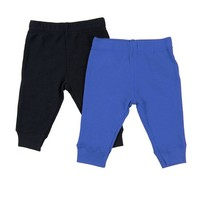 Leveret Baby Legging 2 Pack Navy & Royal Blue 12 Months - Walmart.com