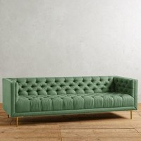 Belgian Linen Mina Sofa by Anthropologie