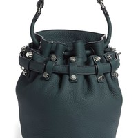 Alexander Wang 'Small Diego - Pale Gold' Leather Bucket Bag - Green