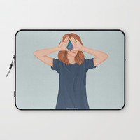 I See Stars Laptop Sleeve by marylobs