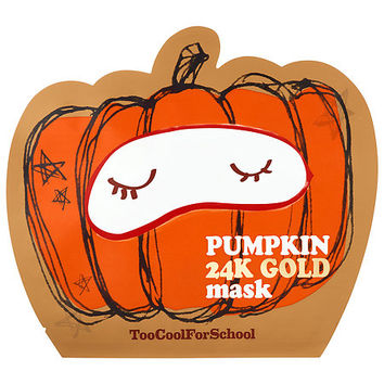 Pumpkin 24K Gold Sheet Mask - Too Cool For School | Sephora