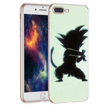 DBZ Super Goku Dragon Ball Z Case for iPhone X 5 S 5S 6 6S 7 8 Plus