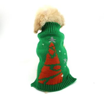 Dog Knitwear Christmas ugly sweater