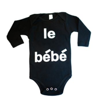 Hugo Loves Tiki Le Bebe Onesuit