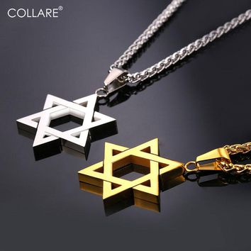 Collare Magen Star Of David Pendant Necklace