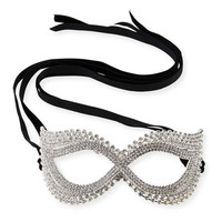Natasha Accessories Limited Cat-Eye Crystal Mask