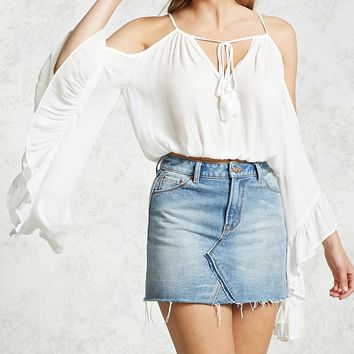 Contemporary Bell Sleeve Top