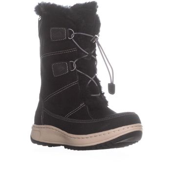 Sperry Top-Sider Powder Valley Thinsulate Snow Boots, Black, 7.5 US / 38 EU