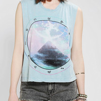 Urban Outfitters - Truly Madly Deeply Zodiac Pyramid Muscle Tee