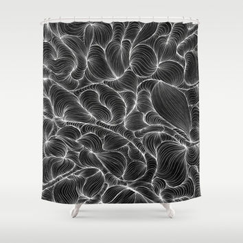 Inversion Shower Curtain by DuckyB (Brandi)