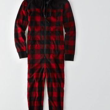 AEO Men's Lumberjack Onesuit (Red)