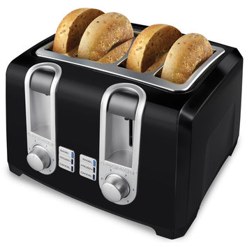 Black & Decker Black 4-Slice Toaster