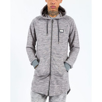 Criminal Damage - Space Long Hoodie - Grey/Black