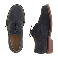 crewcuts Boys Suede Wing Tips