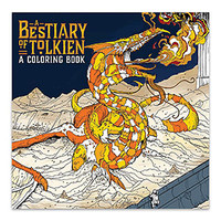 A Bestiary of Tolkien Coloring Book