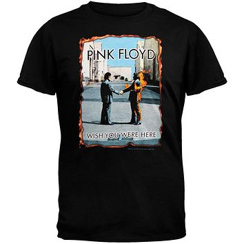 Pink Floyd - Wish You Were Here Burnt T-Shirt