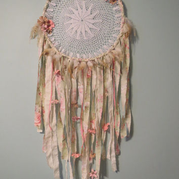 The Skyler - Dreamcatcher, Boho Dreamcatcher, Bohemian Home Decor, Handmade Dream Catcher