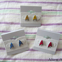 Star Trek Emblem Earrings