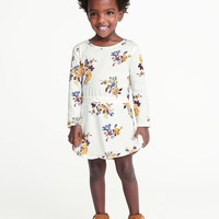 Floral-Print Jersey Dress for Toddler Girls|old-navy
