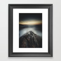 I´m a collider Framed Art Print by HappyMelvin