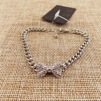 Free Shipping Crystal Bow Bracelet --bx167