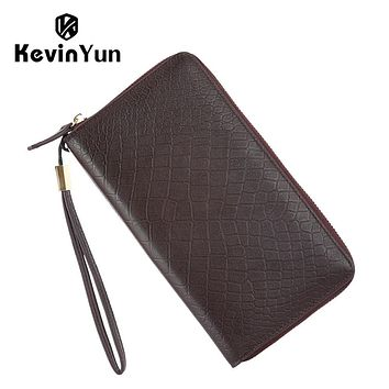 Designer Men Clutch Bags Business Casual Genuine Leather Bag Male Handbag Day Clutches Large Capacity