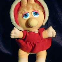 1988 Baby Miss Piggy by Henson Associates. Inc. McDonalds Happy Meal Premium