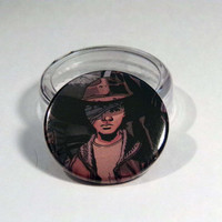 "Comic Book 1.5"" Button// Walking Dead// Carl Grimes"