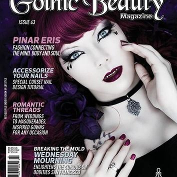 Gothic Beauty Magazine Issue 43 Music interviews with Ministry, Snuttock and Second Skin